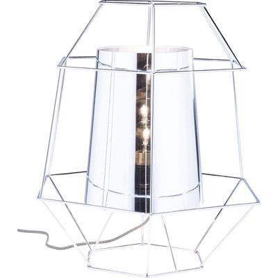 Lámpara mesa Wire plata