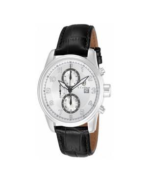 Reloj análogo plateado-negro 0305