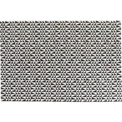 Alfombra piel Zigzag 170x240cm