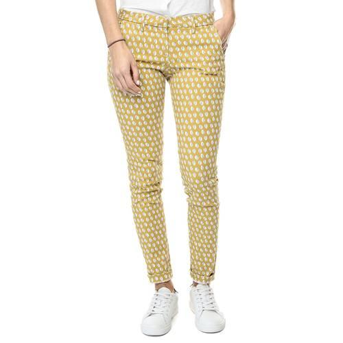 PantalonColor Siete para Mujer - Amarillo
