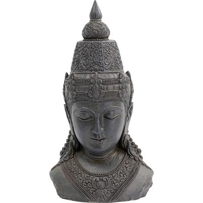Objeto decorativo Asia gris 72cm