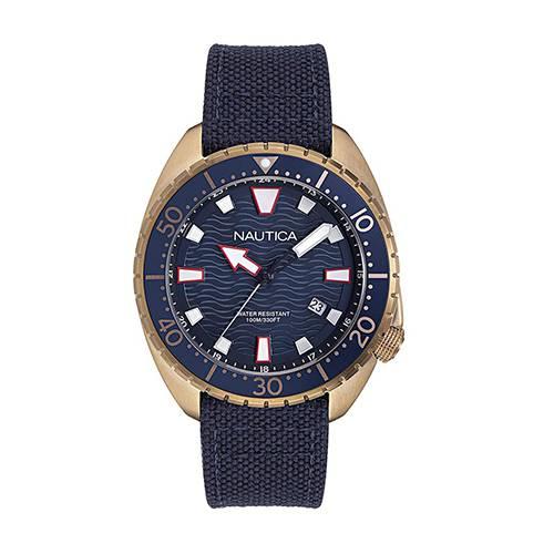 Reloj hammock Azul - Oro Rosa