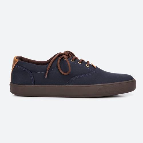 Zapatos Nappa Azul-Café