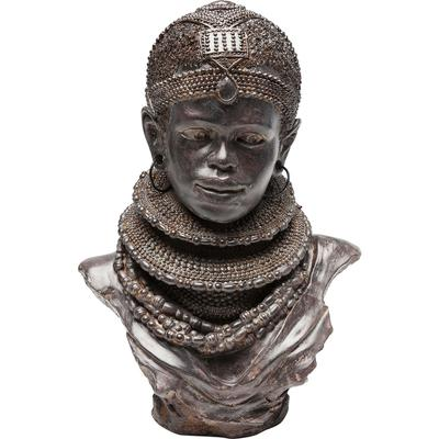Objeto decorativo African Tribal 36cm