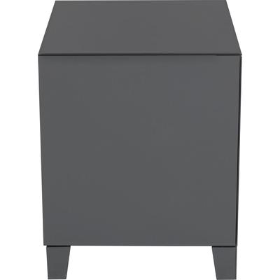 Dresser Small Luxury Push 2 Drawers Grey