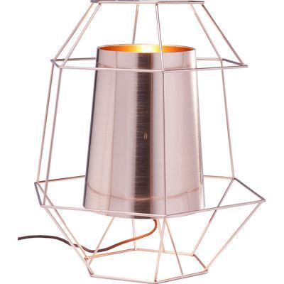 Lámpara mesa Wire cobre