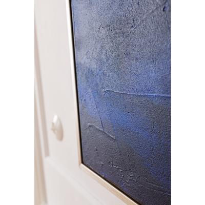 Cuadro Abstract Deep azul 155x155cm