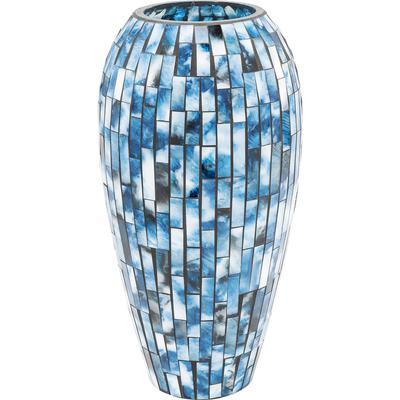 Vasija Mosaico azul 40