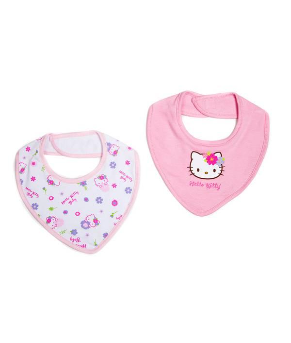 Babero X2 Bebita Hello Kitty