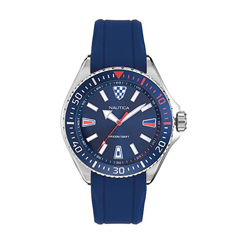 Reloj crandon park Azul - Plateado