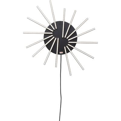 Lámpara (plafón) Radiation negro LED
