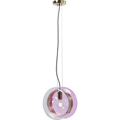 Lámpara JoJo rosa Ø28cm