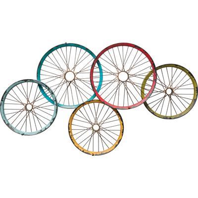 Perchero pared Wagon Wheels