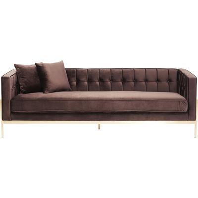 Sofá Loft marrón 3pl
