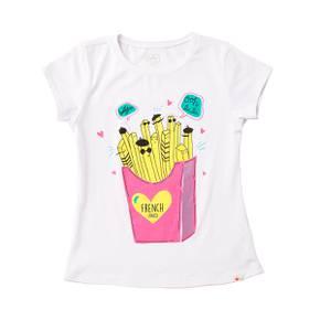Camiseta manga corta para niña
