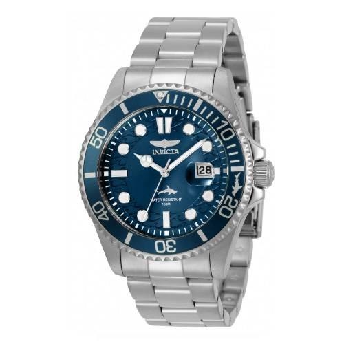 Reloj quartz azul-acero 0019