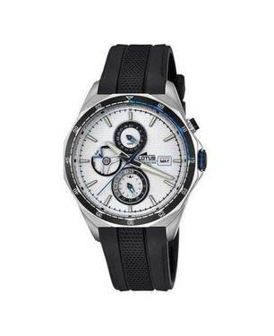 Reloj caucho-negro-blanco 21-1