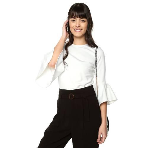 Blusa Francess Color Siete Para Mujer  - Blanco