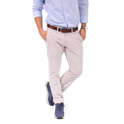 Pantalón Essex Color Siete Para Hombre  - Beige