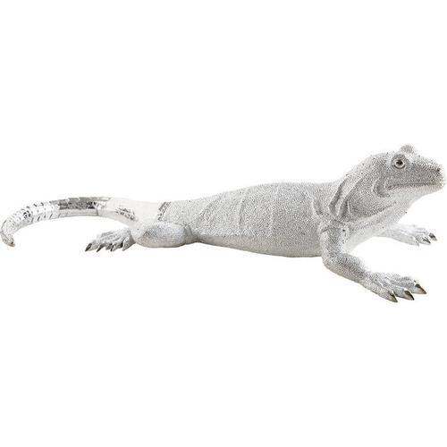 Figura decorativa Lizard plata Deluxe