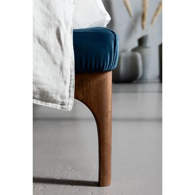 Cama Bobbio azul 180x200 cm