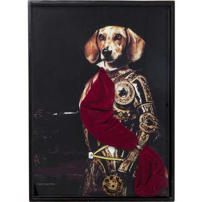 Cuadro Sir Dog 80x60cm