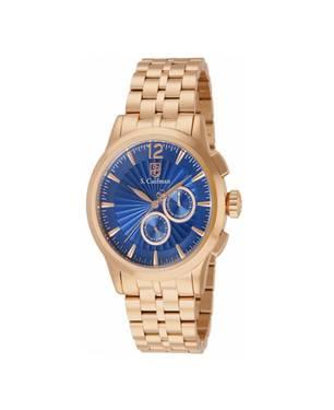 Reloj análogo azul-rosa 0273