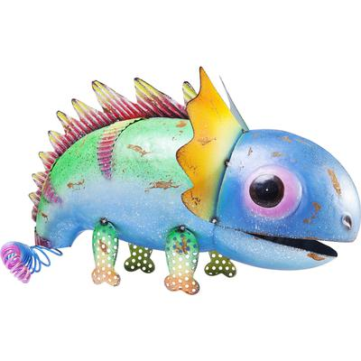 Figura decorativa Dino azul Head