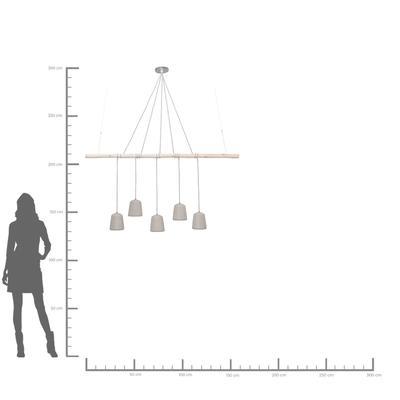 Lámpara Dining Concrete 5