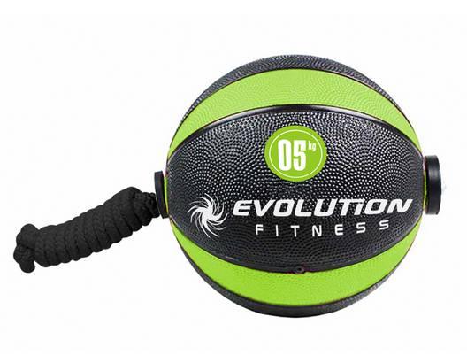 Balón rebote con lazo EVOLUTION 5kg