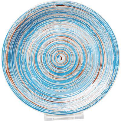 Plato Swirl azul Ø27cm