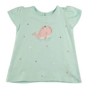 Camiseta para bebe niña
