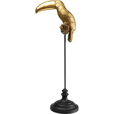 Objeto decorativo Toucan oro 88cm