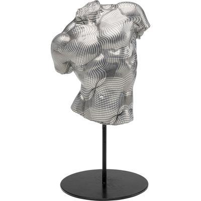 Objeto decorativo Torso gris