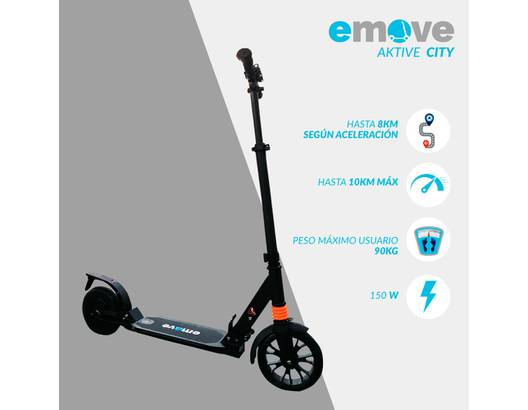 Scooter eléctrica Aktive City Emove