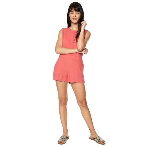 Enterizo Taylor Color Siete Para Mujer  - Naranja