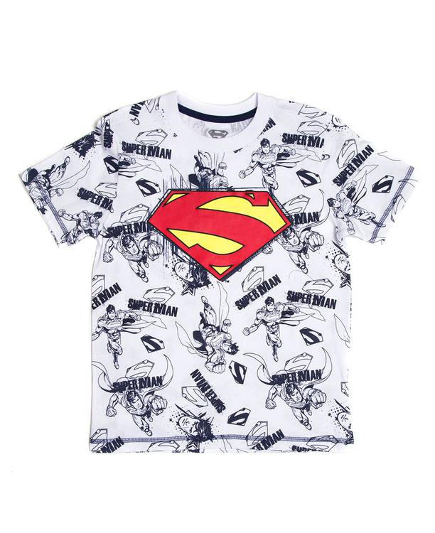Camiseta Mc Niño Superman