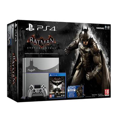 Consola PS4 edición limitada Batman Arkham Knight