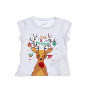 Camiseta navidad para niña