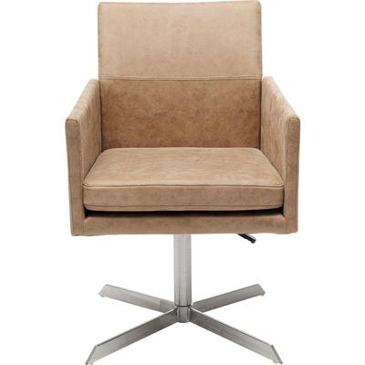 Silla giratoria New York beige