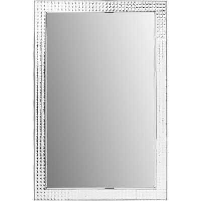 Espejo Crystals Steel cromo 120x80cm