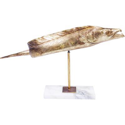 Figura decorativa Pescado oro