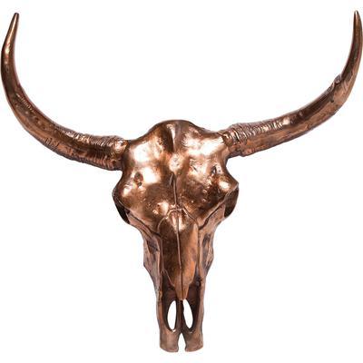 Cornamenta Skull Horn cobre grande