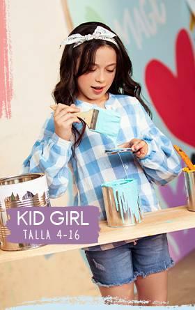Menu Kid Girl Magic