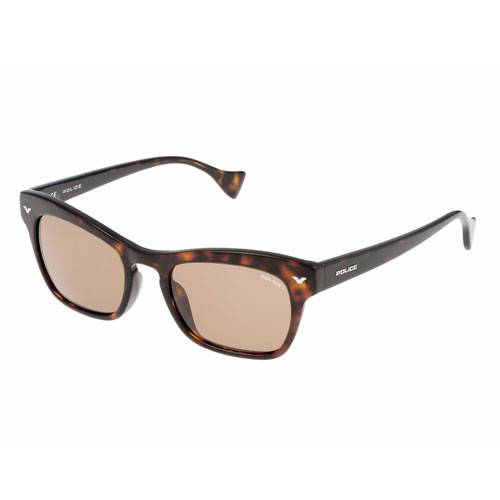 Gafas de sol wayfarer marrón-negro-café
