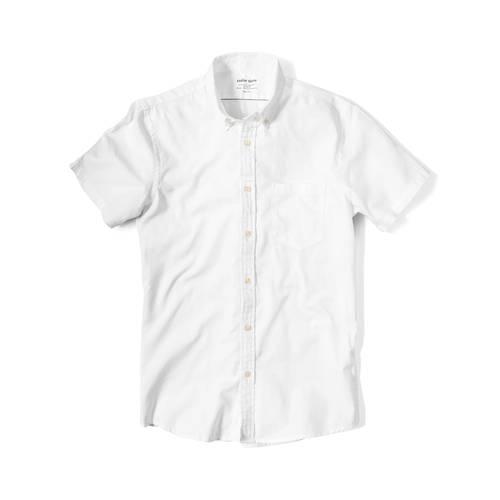 Camisa Wooster Manga Corta - Blanco