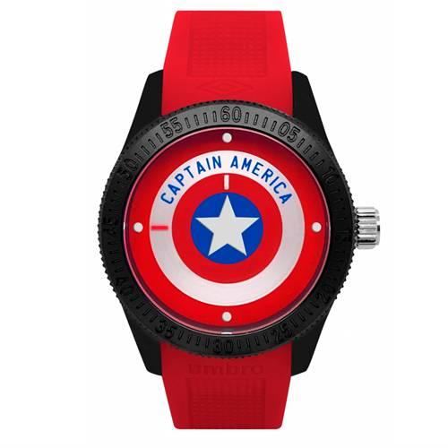 Reloj Análogo Negro-Rojo Umb-Ca01-3