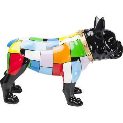 Figura decorativa  Bulldog Colore
