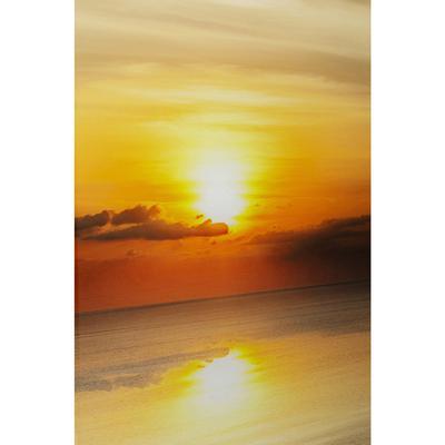 Cuadro cristal Sunset 120x80