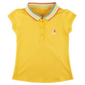 Camiseta tipo polo para niña